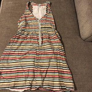 Pinky summer dress size large GUC